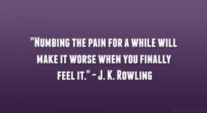 Rowling Quote About Writing