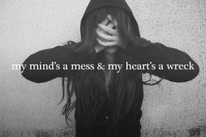 depressed / Tumblr on we heart it / visual bookmark #44722030