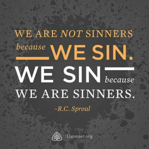 Love this R.C. Sproul quote.