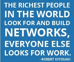 The richest people in the world look for and build networks, everyone ...