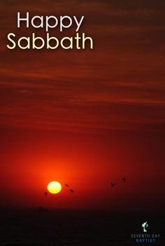 Happy Sabbath! More