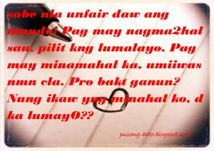 Quotes About Love And Life Tagalog Quotes