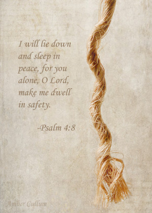 He who dwells in the shelter of the most High will rest in the shadow ...