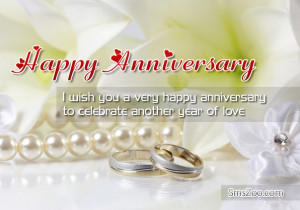 Happy Wedding Anniversary Sms Wishes To A Couple With Images and ...