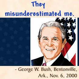 Stupid quote by George W. Bush