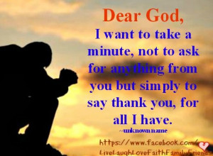 Thank You Lord for all Your blessings...Blessed, Prayer, God, Thank ...