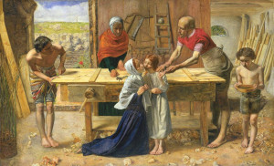 ... Christ in the House of His Parents ('The Carpenter's Shop') 1849