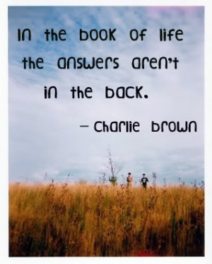 Charlie brown quotes, funny, cartoon, sayings, live, life