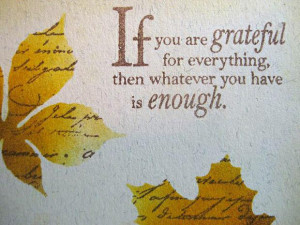 Short Thanksgiving Quotes Inspirational