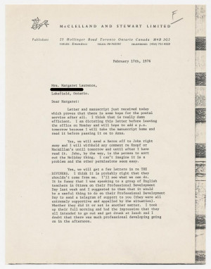 Letter from J G Jack McClelland to John McClelland 10 March 1944