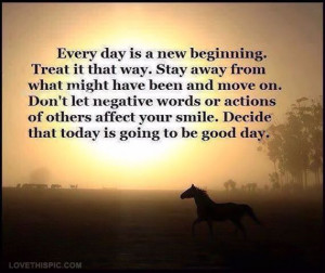 every day is a new beginning quotes quote sky sun hearts life positive ...