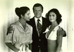 Lois Chiles Roger Moore And