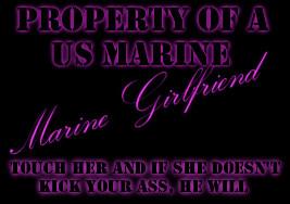 Marine Girlfriend Picture
