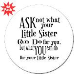 Funny Sister Sayings Stickers | Funny Sister Sayings Sticker Designs ...