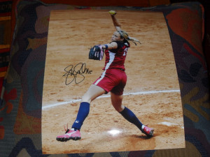 cat osterman totals for the night 5 5 jennie finch 11x14 s 1 1 cat ...