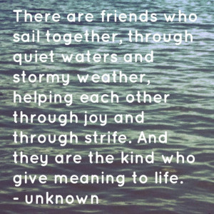 Water Picture With Quotes And Sayings: Sail Together Quote With The ...