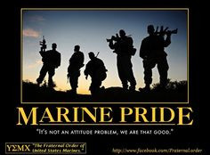 Pride runs through every Marine Corps family too! Marine Corps brat ...