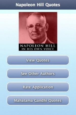View bigger - Napoleon Hill Quotes for Android screenshot