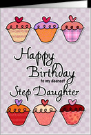 Happy Birthday to my dearest step daughter card - Product #382949