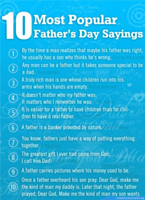 popular fathers day sayings Popular Fathers Day sayings happy fathers ...