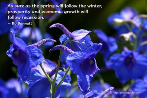 as the spring will follow the winter, prosperity and economic growth ...