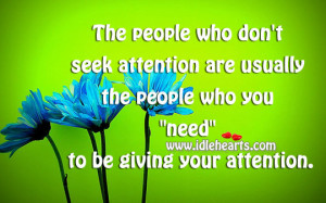 seeking attention quotes the day you stop seeking