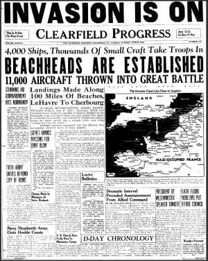 would think most of us had a relative involved in wwii and many of ...