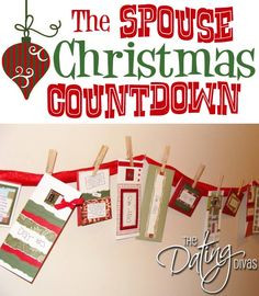 Christmas Advent Calendar, Quotes & Activities