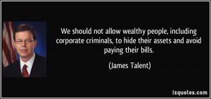 More James Talent Quotes