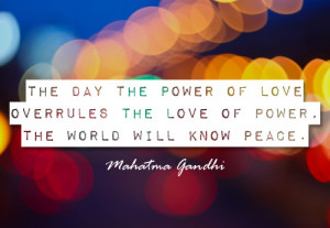 World Peace Quotes Gandhi Gandhi quote