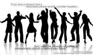Quote - Unreasonable People