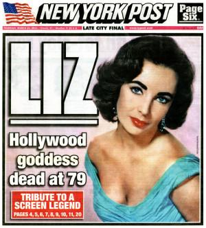Elizabeth Liz Taylor