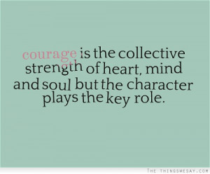 quotes about strengths of character strength of mind and strength