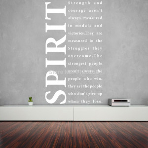 To Live By - Spirit Vinyl Stickers Home Decor Art Wall Decals Quotes ...