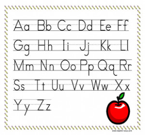 ABC Alphabet Chart Printable