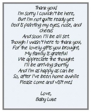 from unborn baby baby shower poems from unborn baby baby shower thank ...