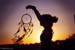 Dream Catcher at Sunset