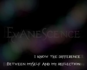 Breathe No More - Evanescence Song Lyric Quote in Text Image
