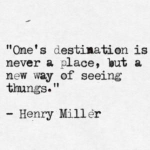 Henry Miller …