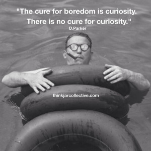 Quote on creativity and curiosity