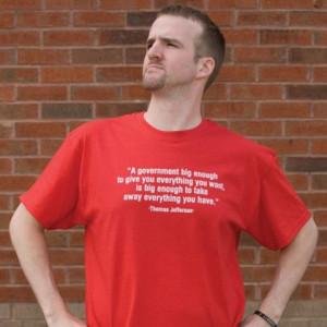 thomas jefferson t shirts