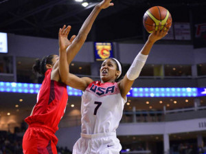 Team USA Women's Basketball vs Canada-slide1