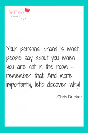Personal branding is how you position and market yourself to others ...