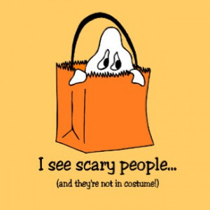 Funny Halloween stickers by holiday_tshirts