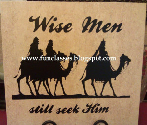 Wise Men still seek Him vinyl Quote $20. Black Vinyl fits on a 12
