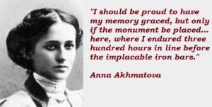 Anna akhmatova famous quotes 1