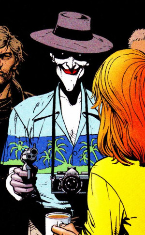 Joker visits the Gordons in The Killing Joke (1988) Art by Brian ...