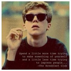 quote the breakfast club love that movie more film the breakfast club ...