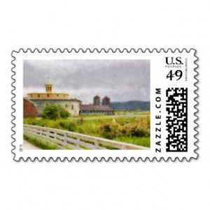 Hard Work Postage Stamps