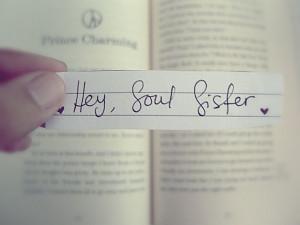 Hey, Soul Sister by LemonveeJonas, via Flickr